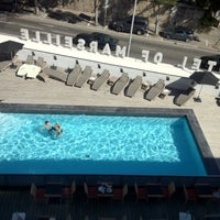 Photo taken at New Hotel of Marseille by Yana Y. on 7/20/2012