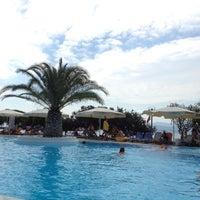 Photo taken at Negroponte Resort Eretria by Dimitris Z. on 8/19/2012
