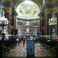 Photo taken at St. Stephen's Basilica by Andrew L. on 5/8/2012