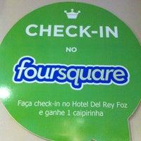 Photo taken at Hotel Del Rey Foz by Mayara M. on 9/13/2012