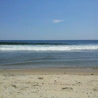 Photo taken at Asbury Park Beach by Stacy T. on 6/28/2012
