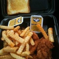 Photo taken at Zaxby's Chicken Fingers & Buffalo Wings by Jennifer H. on 3/24/2012