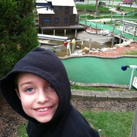 Photo taken at Udders and Putters Mini Golf Course by Steven R. on 3/25/2012