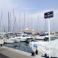 Photo taken at Voiles d'Antibes by Аlexander T. on 3/25/2012