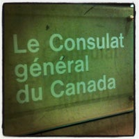 Photo taken at Consulate General of Canada by Bea V. on 5/8/2012