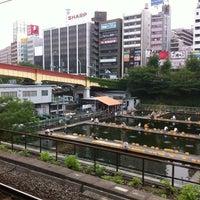 Photo taken at Ichigaya Station by junichi e. on 7/5/2012