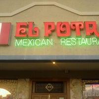 Photo taken at El Potro Mexican Restaurant by Natasha W. on 4/22/2012