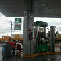 Photo taken at Gasolinera Del Avion by Hal G. on 6/23/2012