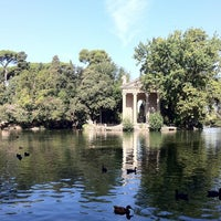 Photo taken at Villa Borghese by Victoria G. on 8/30/2012