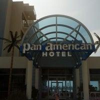 Photo taken at Pan American Hotel by Chris on 7/23/2012