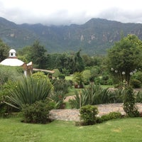 Photo taken at Quinta Los Pinos by Joan T. on 7/14/2012