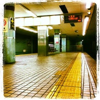 Photo taken at Nakazakicho Station (T19) by Celio B. on 4/20/2012