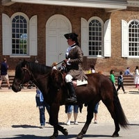 Photo taken at Colonial Williamsburg by Alice M. on 4/13/2012