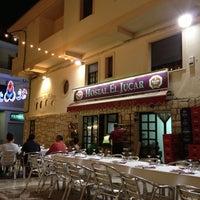 Photo taken at Hostal-Restaurante El Júcar by Franvat on 8/11/2012