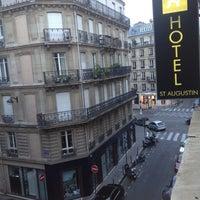 Photo taken at Hôtel Augustin by Pricopie A. on 7/17/2012