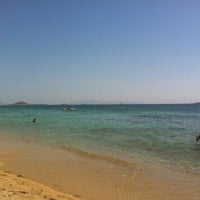Photo taken at Plaka Beach by Korina L. on 7/30/2012