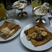 Photo taken at Café George V by May L. on 5/27/2012