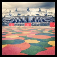 Photo taken at London 2012 Olympic Park by James F. on 8/20/2012