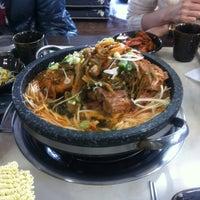 Photo taken at 뼈통 묵은지 감자탕 by Eunjae P. on 4/3/2012