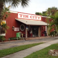 Photo taken at Tin City by Andrew S. on 5/14/2012