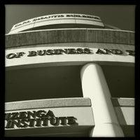 Photo taken at NSU: Carl DeSantis Building by Lina E. on 5/11/2012
