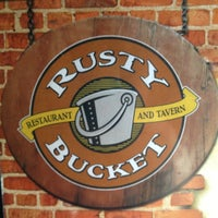 Photo taken at Rusty Bucket Restaurant and Tavern by Jennifer D. on 6/10/2012