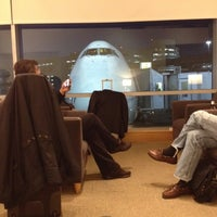 Photo taken at British Airways Terraces Lounge by Mike B. on 3/7/2012