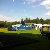 Photo taken at Canterbury Camping and Caravanning Club Site by LincolnGreen on 8/12/2012