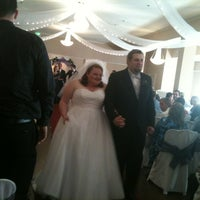 Photo taken at Springfield Banquet Hall by Christina M. on 3/4/2012