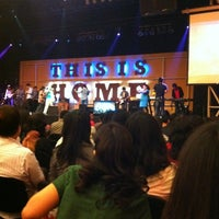 Photo taken at Jakarta Praise Community Church (JPCC) by Andrew F. on 6/3/2012