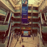 Photo taken at Ambience Mall by Ashwin N. on 7/28/2012