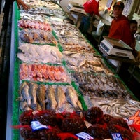 Photo taken at Maine Avenue Fish Market by Gina F. on 4/13/2012