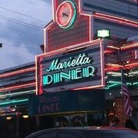 Photo taken at Marietta Diner by Cherita N. on 5/13/2012