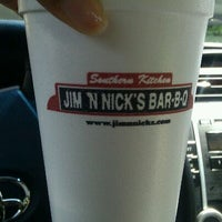 Photo taken at Jim 'N Nick's Bar-B-Q by Sarah E. on 5/9/2012