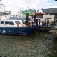 Photo taken at Sri Bintan Pura Ferry Terminal by Oloan M. on 7/15/2012