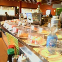 Photo taken at Kura Sushi by Marc P. on 7/23/2012