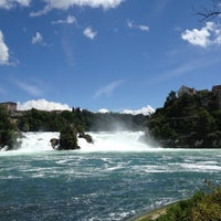 Photo taken at Rheinfall by Tim S. on 7/15/2012