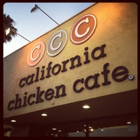 Photo taken at California Chicken Cafe by Bob D. on 8/10/2012