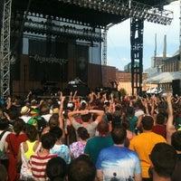 Photo taken at 80/35 Music Festival by Jon T. on 7/7/2012