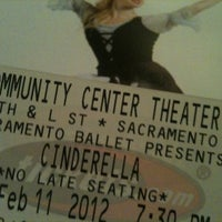 Photo taken at Sacramento Community Center Theater by Lisa H. on 2/12/2012