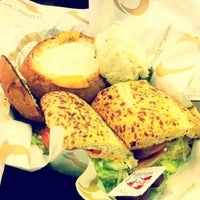 Photo taken at Quiznos Sub by Seo a. on 2/12/2012