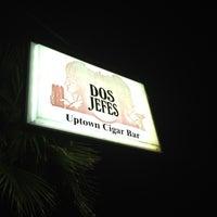 Photo taken at Dos Jefes Uptown Cigar Bar by Bryan D. on 5/16/2012