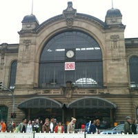 Photo taken at Bahnhof Hamburg Dammtor by Thepayut T. on 5/6/2012