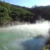 Das Foto wurde bei 地熱谷 Beitou Thermal Valley von bokutoba am 2/12/2012 aufgenommen