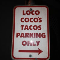 Photo taken at Loco Coco's Tacos by Joanne S. on 3/8/2012