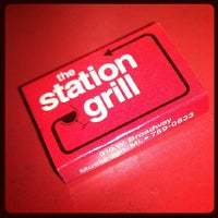 Photo taken at The Station Grill by CHILLA P. on 6/19/2012