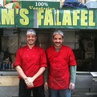 Photo taken at Sam's Falafel by Sarah C. on 4/19/2012