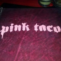 Photo taken at Pink Taco by Ivy L. on 4/25/2012
