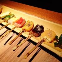 Photo taken at 魚 豆ふ 地どり 伝兵衛 池袋店 by Yuri A. on 3/10/2012