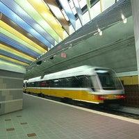 Photo taken at Parker Road Station (DART Rail) by Robert P. on 3/17/2012